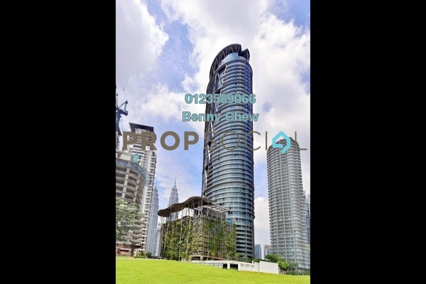 For Rent Office at Platinum Park, KLCC Freehold Semi Furnished 0R/0B 38.3k