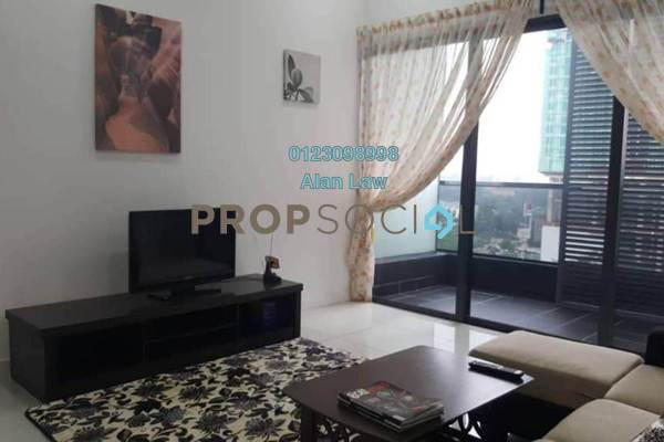 For Rent Condominium at The Veo, Melawati Freehold Fully Furnished 1R/1B 1.7k