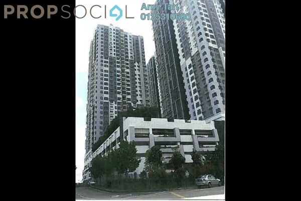 For Sale Condominium at The Wharf, Puchong Freehold Semi Furnished 0R/0B 279k