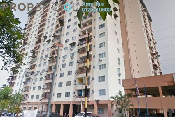 For Sale Apartment at Taman Gombak Permai, Batu Caves Freehold Semi Furnished 0R/0B 260k