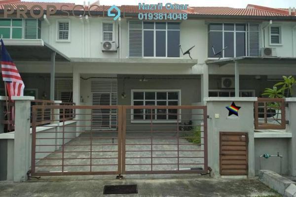 For Rent Terrace at Bandar Puncak Alam, Kuala Selangor Freehold Semi Furnished 4R/3B 1.5k