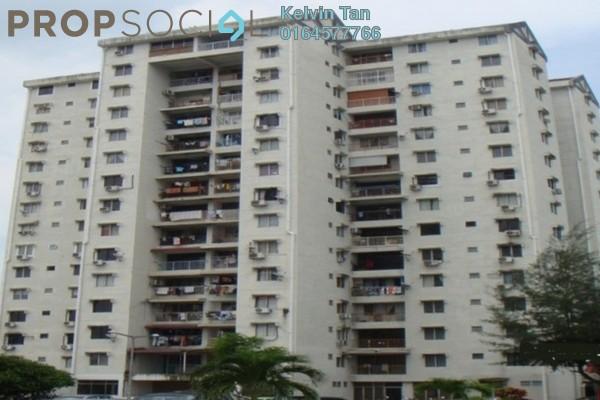 For Rent Apartment at Taman Seri Damai, Green Lane Freehold Fully Furnished 3R/2B 1.1k