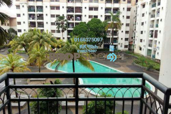 For Sale Apartment at Bayu Villa, Klang Freehold Semi Furnished 3R/2B 268k