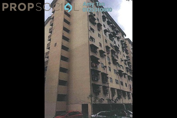 For Sale Apartment at Laksamana, Batu Caves Freehold Semi Furnished 0R/0B 65k