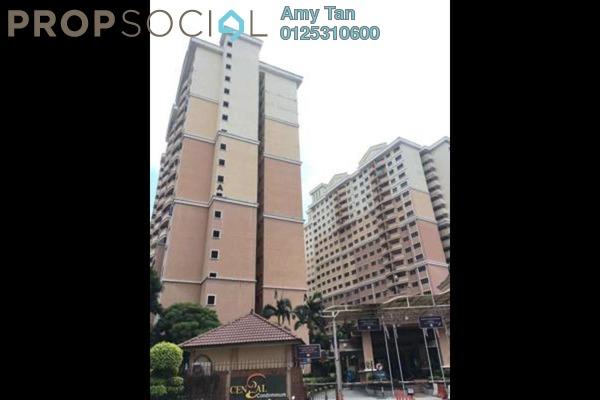 For Sale Condominium at Cengal Condominium, Bandar Sri Permaisuri Freehold Semi Furnished 0R/0B 415k