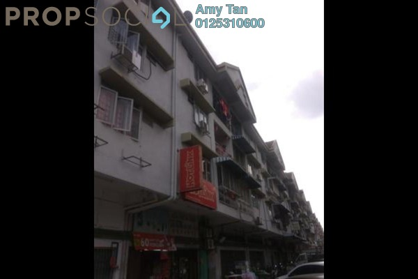 For Sale Apartment at Taman Pusat Kepong, Kepong Freehold Semi Furnished 0R/0B 145k