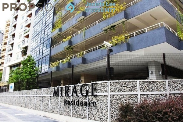 For Sale Condominium at Mirage Residence, KLCC Freehold Fully Furnished 3R/3B 1.82m