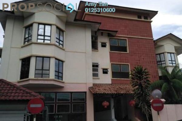 For Sale Townhouse at Villa Dahlia, Bandar Utama Freehold Semi Furnished 0R/0B 450k