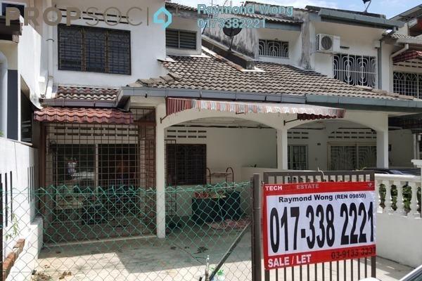 For Rent Terrace at Taman Saga, Ampang Freehold Unfurnished 4R/2B 1.3k