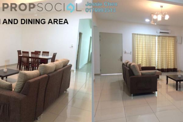 For Rent Terrace at Castora, Bandar Sri Sendayan Freehold Semi Furnished 4R/4B 1.65k