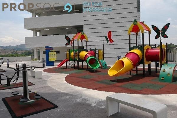 For Rent Condominium at Permata Residence, Bandar Sungai Long Freehold Semi Furnished 3R/2B 1.2k