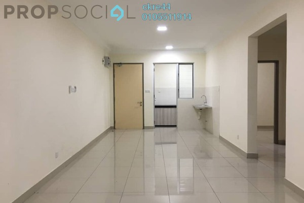 For Sale Condominium at Platinum Lake PV21, Setapak Leasehold Semi Furnished 2R/2B 479k