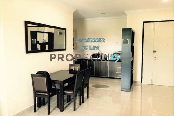 For Rent Serviced Residence at The Heron Residency, Puchong Freehold Semi Furnished 3R/2B 1.3k
