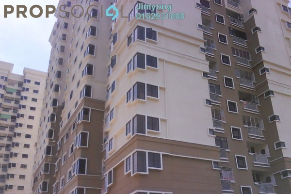 For Rent Condominium at Pelangi Utama, Bandar Utama Freehold Fully Furnished 3R/2B 2.1k