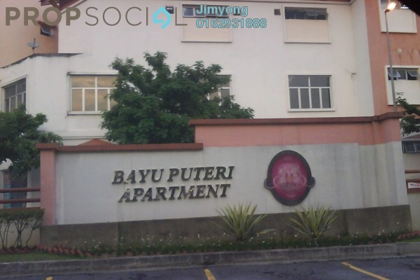 For Sale Apartment at Bayu Puteri, Tropicana Freehold Fully Furnished 3R/2B 455k