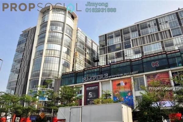 For Rent Office at Empire Subang, Subang Jaya Freehold Semi Furnished 1R/1B 15k