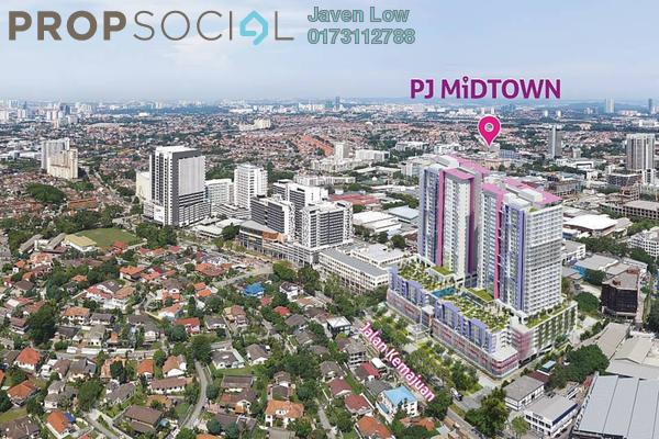 For Sale Condominium at PJ Midtown, Petaling Jaya Freehold Fully Furnished 3R/2B 1m