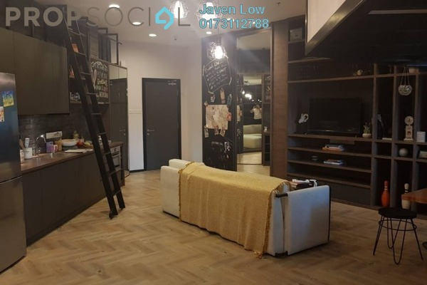 For Sale Condominium at VERVE Suites, Old Klang Road Freehold Fully Furnished 0R/1B 650k