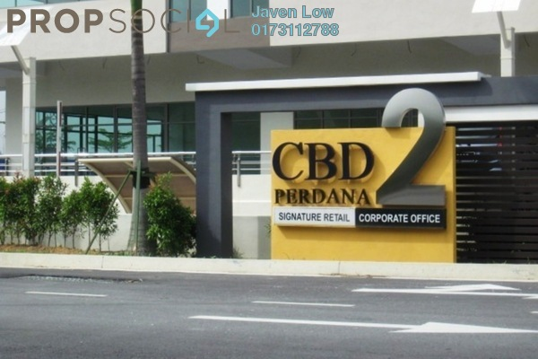 For Sale Office at CBD Perdana 2, Cyberjaya Freehold Semi Furnished 0R/2B 800k