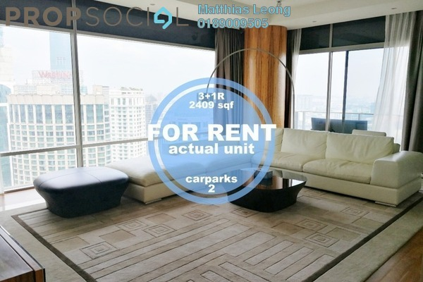 For Rent Condominium at Pavilion Residences, Bukit Bintang Freehold Fully Furnished 3R/5B 13k