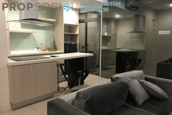For Rent Serviced Residence at Eve Suite, Ara Damansara Freehold Fully Furnished 0R/1B 1.8k