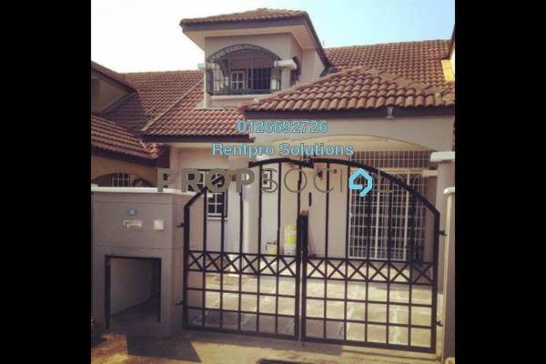 For Rent Terrace at Suasana, Bandar Tun Hussein Onn Freehold Unfurnished 4R/3B 1.3k