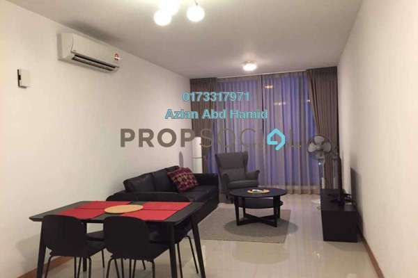 For Rent Condominium at KL Gateway, Bangsar South Freehold Fully Furnished 2R/2B 3k