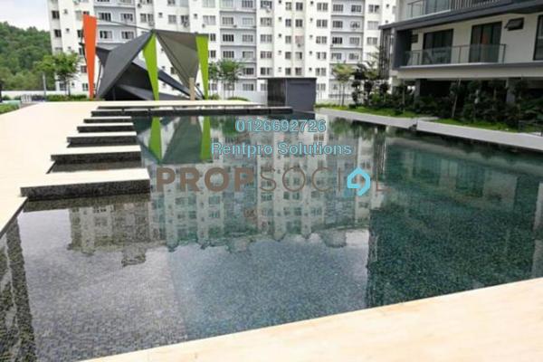 For Rent Condominium at 9INE, Batu 9 Cheras Freehold Semi Furnished 3R/2B 1.7k