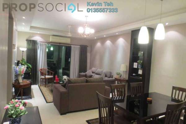 For Rent Condominium at Changkat View, Dutamas Freehold Fully Furnished 3R/2B 2.4k