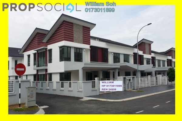 For Sale Superlink at Anggun 2, Setia Alam Freehold Unfurnished 5R/5B 1.18m
