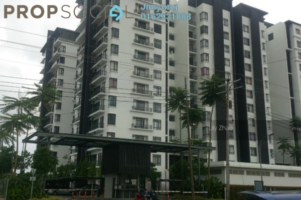 For Rent Condominium at Surian Residences, Mutiara Damansara Freehold Semi Furnished 4R/3B 4.8k