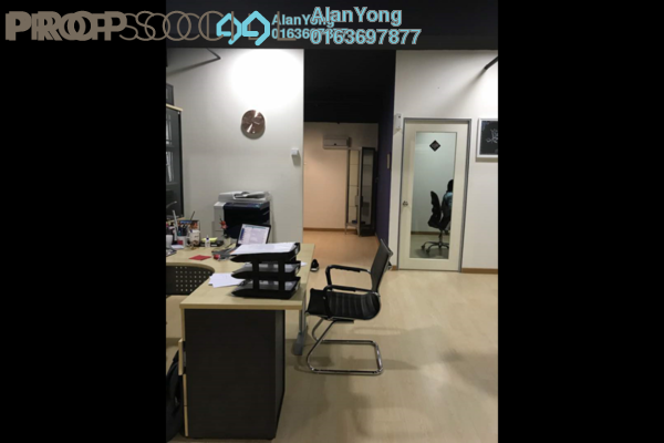 For Rent Office at d6, Sentul Freehold Fully Furnished 0R/0B 4k