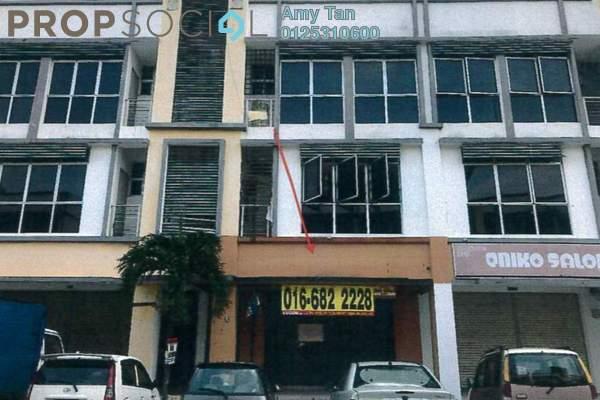 For Sale Shop at Klang Sentral Commercial Centre, Meru Freehold Semi Furnished 0R/0B 485k