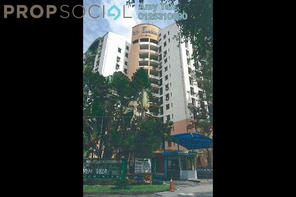 For Sale Condominium at City Garden Palm Villa, Pandan Indah Freehold Semi Furnished 0R/0B 420k