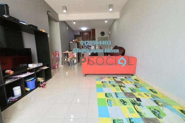For Sale Apartment at Seri Atria Apartment, Subang Freehold Semi Furnished 3R/2B 310k