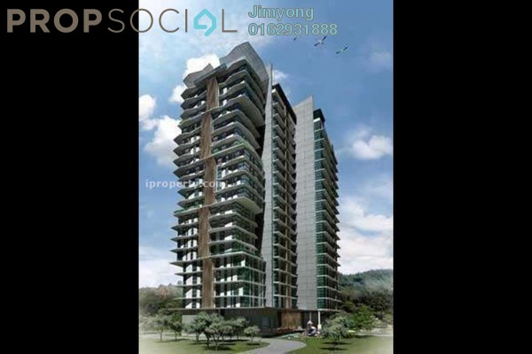 For Sale Condominium at Cascades, Kota Damansara Freehold Semi Furnished 2R/2B 730k