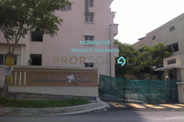 For Rent Apartment at Mandarina Court, Cheras Freehold Unfurnished 3R/2B 1.05k