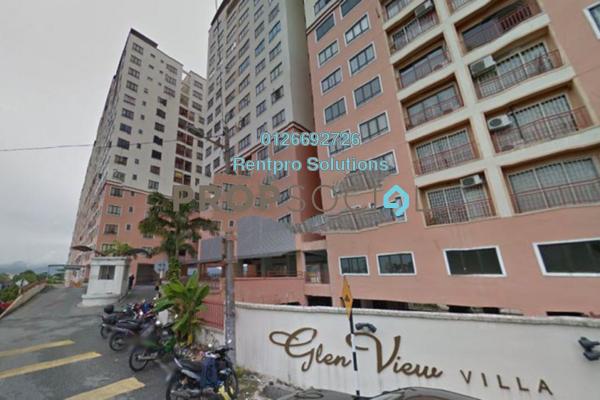 For Rent Condominium at Glen View Villa, Cheras Freehold Unfurnished 3R/2B 1.1k