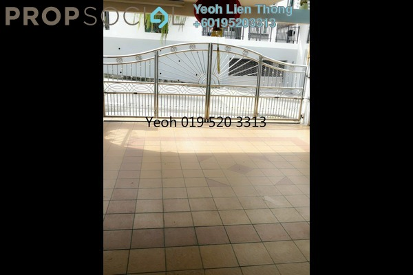 For Sale Terrace at Jalan Gajah, Tanjung Tokong Freehold Semi Furnished 4R/2B 1.08m