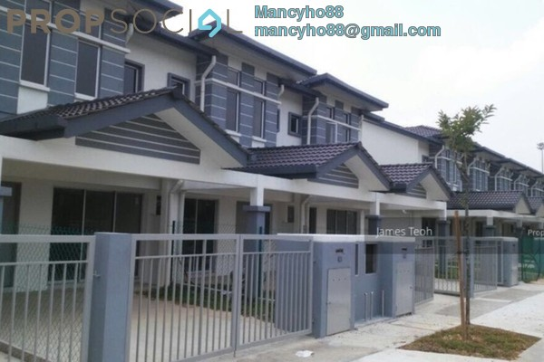 For Sale Terrace at Kemuning Greenhills, Kota Kemuning Freehold Semi Furnished 4R/3B 570k
