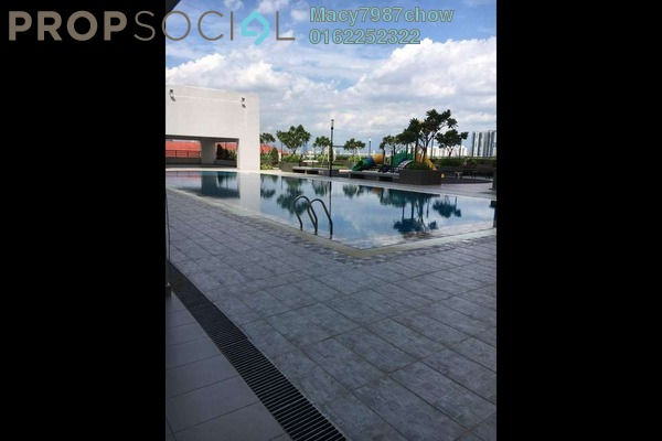 For Sale Condominium at Spring Avenue, Kuchai Lama Freehold Semi Furnished 3R/2B 558k