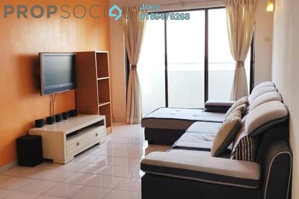 For Rent Condominium at Vista Millennium, Puchong Freehold Semi Furnished 3R/2B 1.1k