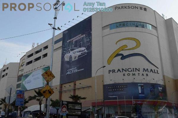 For Sale Shop at Prangin Mall, Georgetown Freehold Semi Furnished 0R/0B 82k