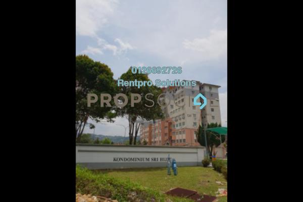 For Rent Condominium at Sri Hijau, Bandar Mahkota Cheras Freehold Unfurnished 3R/2B 850translationmissing:en.pricing.unit