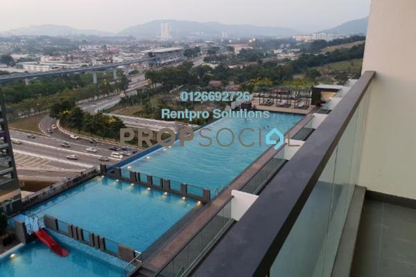 For Rent Condominium at Landmark II, Bandar Sungai Long Freehold Semi Furnished 3R/2B 1.5k