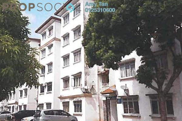 For Sale Apartment at Seri Melati Apartment, Bandar Seri Putra Freehold Semi Furnished 0R/0B 162k