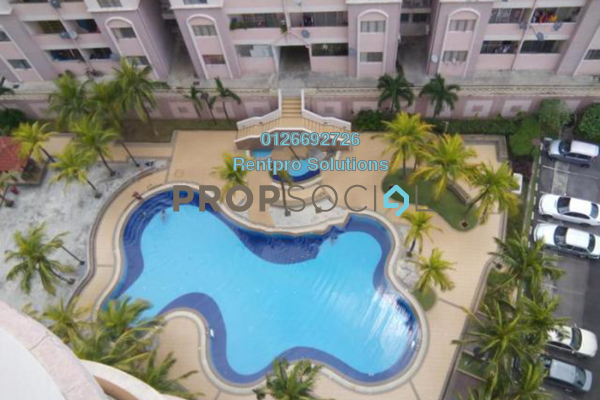 For Rent Apartment at Desa Saujana, Seri Kembangan Freehold Semi Furnished 3R/2B 1.2k