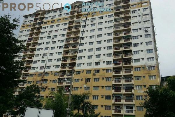 For Sale Apartment at Laksamana Puri, Batu Caves Leasehold Semi Furnished 0R/0B 270k