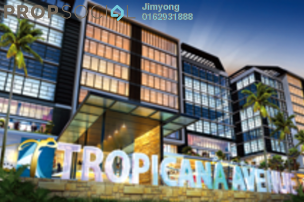 For Sale Condominium at Tropicana Avenue, Tropicana Freehold Fully Furnished 1R/1B 680k