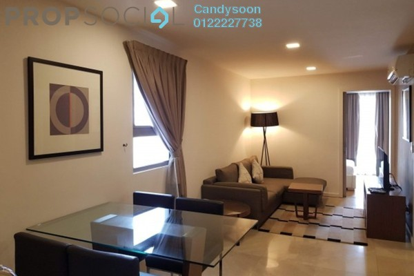 For Rent Serviced Residence at Bintang Fairlane Residences, Bukit Bintang Freehold Fully Furnished 0R/0B 2.8k